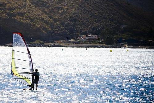 Windsurfing La Gomera