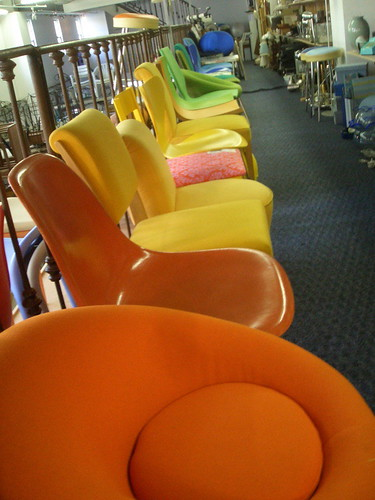 multicolor chairs