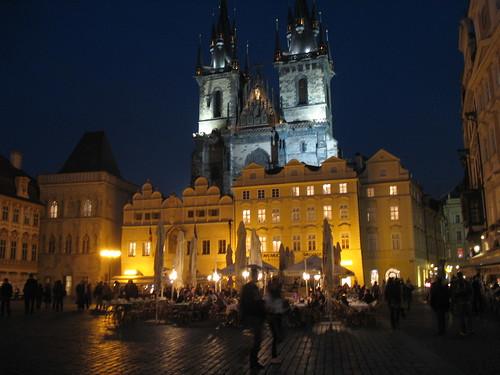 The Tyn Church, Stade Mesto, Prague