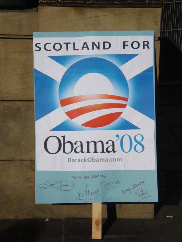 Scotland for Obama