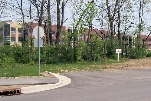 Carmel stop sign
