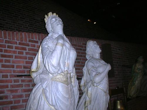 Virgin gardians of the sea