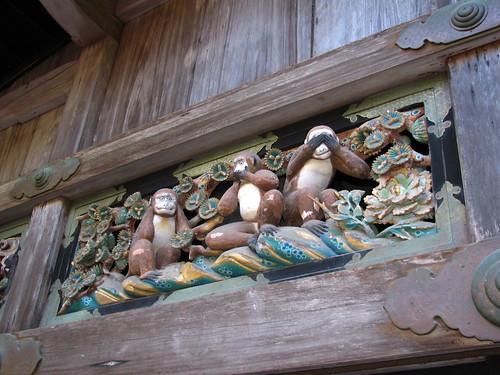 Le scimmie di Nikko
