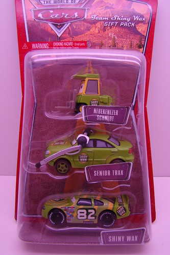 DISNEY CARS Team Shiny Wax gift pack