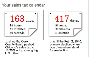 sales tax calendar