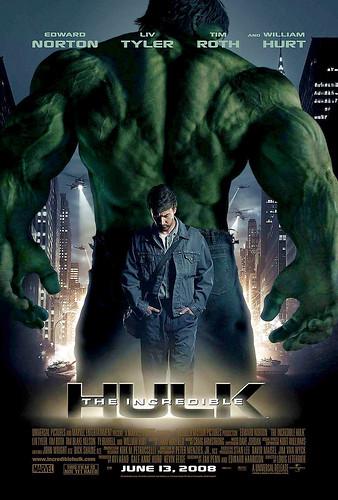 Poster de O Incrivel Hulk - CLIQUE PARA AMPLIAR