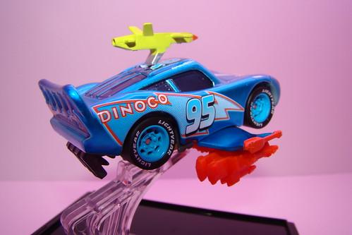 SDCC CARS Lightning Storm McQueen