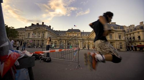 """Jump of his life""   Paris"