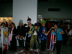 One Piece + Bleach group