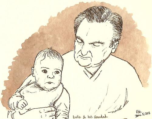 luke and his grandad