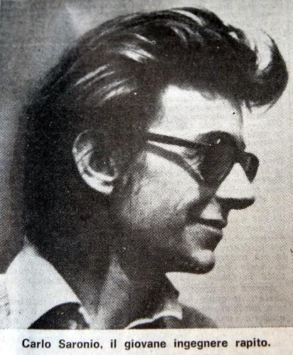 Carlo Saronio, rapito e ucciso nel 1975 a Milano