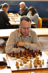 Chris at the Scottish Chess Championships