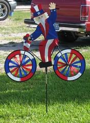 Uncle Sam on a Bike