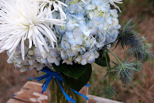 My 'first' flower arrangement.