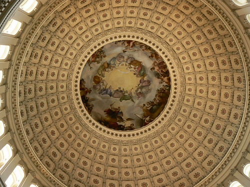 Large Dome in Capitol Building