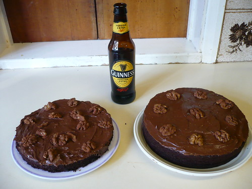 Chocolate beer cake