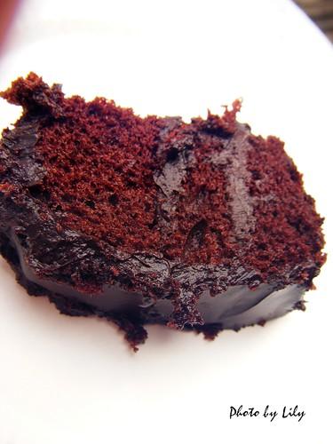 經典巧克力蛋糕片狀