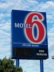 Motel 6 Sign and Logo