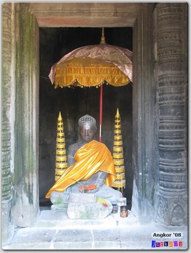 Bayon - Buddha statue