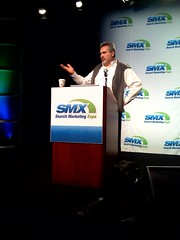 Louis Monier gives keynote on Day 2 of SMX West 2008