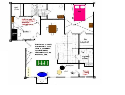 Floorplan with furniture 1