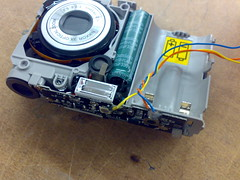 Taking apart the Coolpix