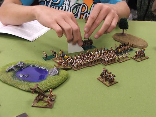 A big fight between terrain features.