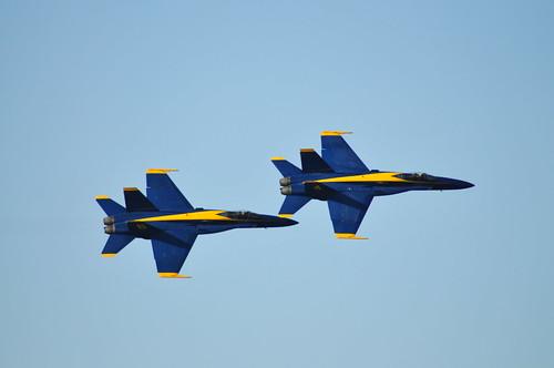 San Francisco Fleet Week 2008 - Blue Angels Survey and Practice Flights