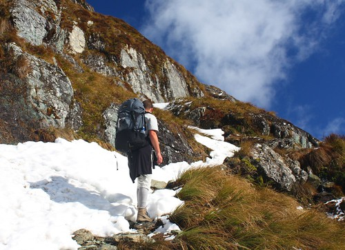 Mike On The Routeburn Track