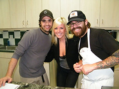 Jade with Chefs Jon Shook and Vinny Dotolo, MyLastBite.com