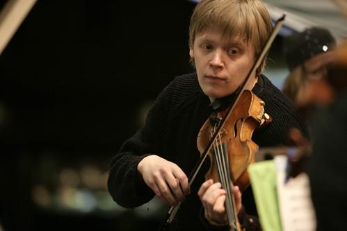 """Pekka Kuusisto"" by brittensinfonia"