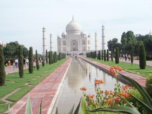 El Taj Mahal en Agra