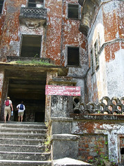 Tourists at Bokor Casino