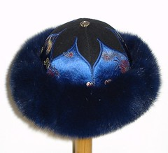 Hat with fur
