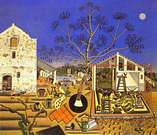 Joan Miró. La masias. 1921-22.