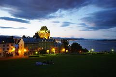 Québec l'heure bleue