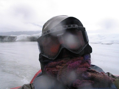 Me in front of Knik Glacier [365.80] by you.