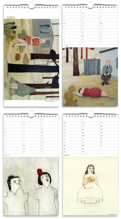 calendar2009camillaengman