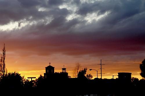 Santa Fe Silhouette