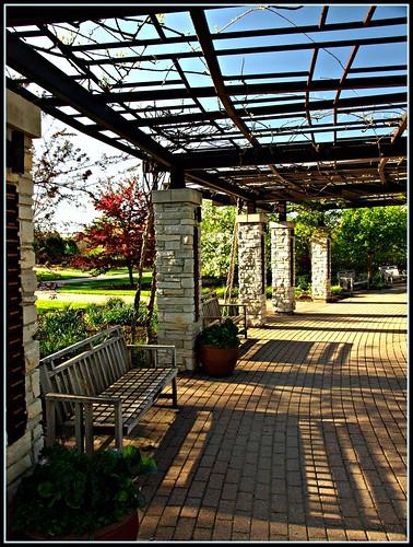 Garden Brick Patio