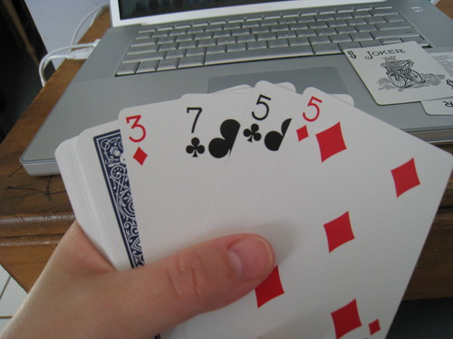 Single Hand Solitaire (3/6)