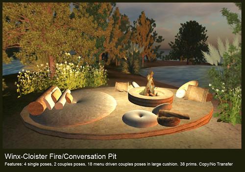 Cloister Conversation Firepit