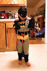 Batman with his tool belt