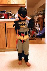 Batman with his tool belt