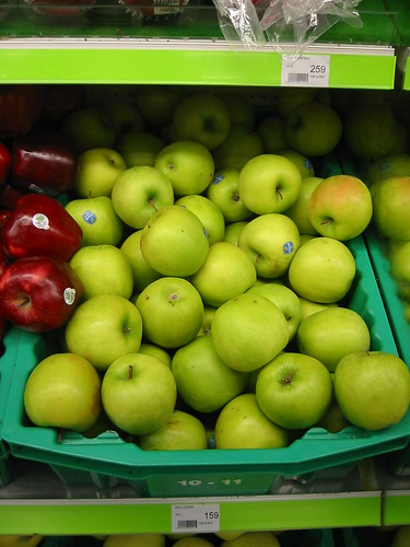 Chilean apples in Iceland