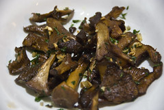 Pan-roasted wild mushrooms