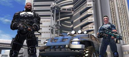 Yes, Crackdown was a Dystopia. Honest.
