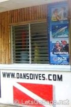 A Dive Shop in the Island