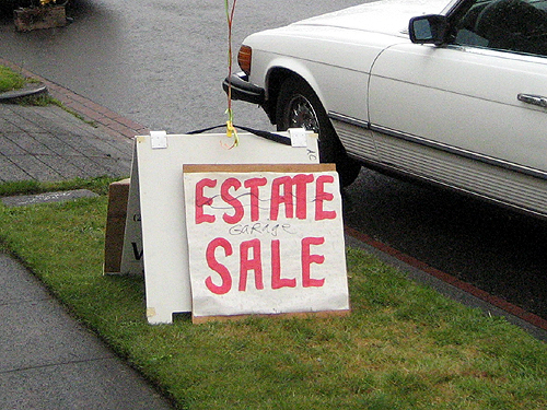 Estate sale - no wait, garage sale