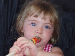 Ryleah and Her Lolly Pop